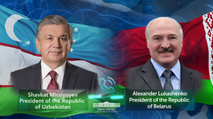 Leaders of Uzbekistan and Belarus hold phone talk